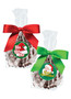 Christmas Dark Chocolate Sea Salt Caramels - Favor Bags