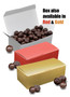 Christmas Dark Chocolate Sea Salt Caramels - Red & Gold Boxes
