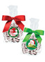 Christmas Peppermint Chocolate Nonpareil - Favor Bags