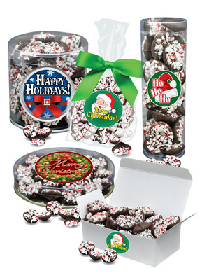 Christmas Peppermint Chocolate Nonpareils