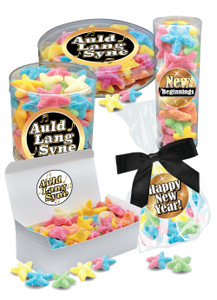 New Year Starfish Gummy Candy