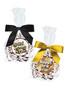 New Year Peppermint Dark Chocolate Nonpareils - Favor Bags