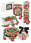New Year Strawberry Soft-filled Hard Candy