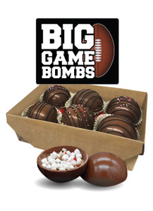 Big Game Hot Cocoa Bombs - 6 pack