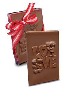 Valentine's Day Love Chocolate Plaque