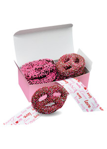 Valentine's Day Chocolate Pretzel 6pc Box