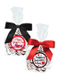 Valentine's Day Peppermint Dark Chocolate Nonpareils - Favor Bags