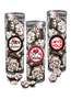Valentine's Day Peppermint Dark Chocolate Nonpareils - Tall Clear Canister