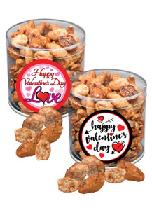Valentine's Day Butter Toffee Pecans