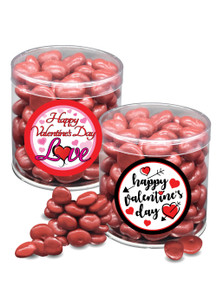 Valentine's Day Chocolate Red Cherries - Wide Canister