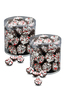 Peppermint Dark Chocolate Nonpareils - Wide Canister
