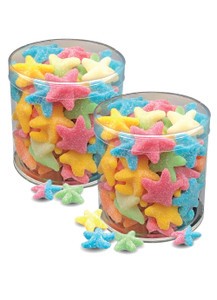 Starfish Gummy Candy - Wide Canisters