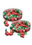 Strawberry Soft-filled Hard Candy - Flat Canister
