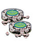 Employee App Peppermint Chocolate Nonpareils - Flat Canister