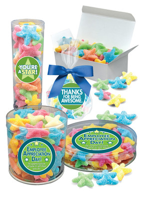 Employee Appreciation Starfish Gummy Candy
