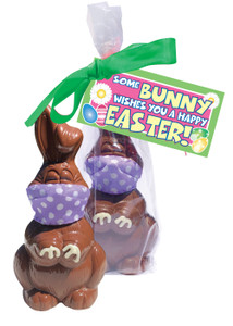 Easter Quarantine Chocolate Bunny
