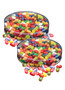 Jelly Belly Fruit Bowl Jelly Beans - Flat Canister