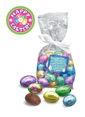Easter Egg Mini Foiled Chocolates