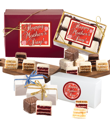 Mother's Day Petit Fours Gift Boxes