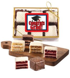 Graduation Petit Fours Gift - 6pc