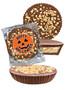 Halloween Peanut Butter Candy Pie - Toffee