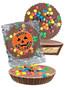 Halloween Peanut Butter Candy Pie - M&M