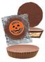 Halloween Peanut Butter Candy Pie - Plain
