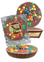 New Home Peanut Butter Candy Pie - M&M