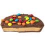 Anniversary Peanut Butter Chocolate Mini Pie - Slice