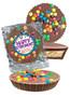 Retirement Peanut Butter Candy Pie - M&M
