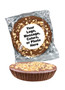 """Peanut Butter Toffee Chocolate Candy Pies - """"Your Message Here"""""""
