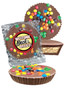 Back to the Office Peanut Butter Candy Pie - M&Ms