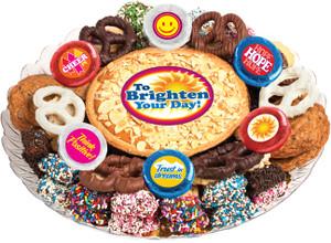 Brighten Your Day Cookie Pie & Cookie Platter