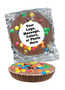 """Peanut Butter Mini M&M Chocolate Candy Pies - """"Your Message Here"""""""