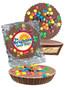 Brighten Your Day Peanut Butter Candy Pie - M&M