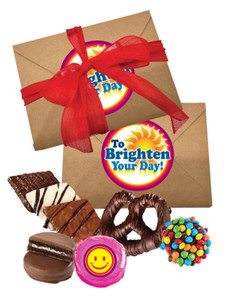 Brighten Your Day 1lb Assorted Craft Box of Treats