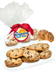 Brighten Your Day Chocolate Chip Butter Cookies