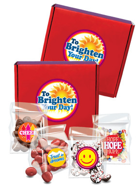 Brighten Your Day Candy Gift Box