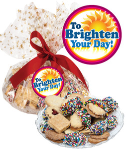 Brighten Your Day Butter Cookie Assortment Platter