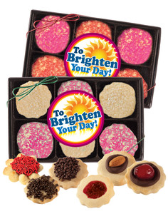 Brighten Your Day Butter Cookie 12pc Box
