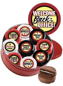 Back to the Office Chocolate Oreo 16pc Tin