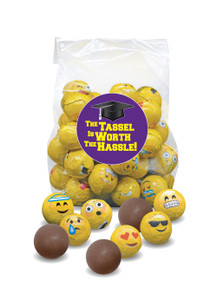 Back To School Emoji Chocolate Balls