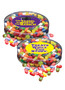 Back To School Jelly Belly Fruit Jelly Beans - Flat Canister