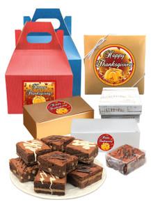 Thanksgiving Brownie Set