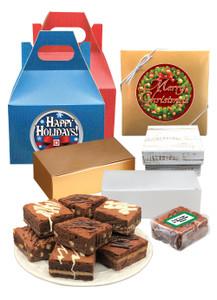 Christmas Brownies Gifts