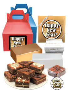 Happy New Year Brownie Gifts