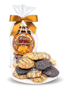 Thanksgiving Crispy & Chewy Artisan Cookie Bag