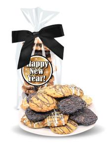 Happy New Year Crispy & Chewy Artisan Cookie Bag