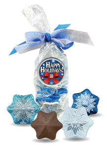 Chocolate Snowflake Candy Bag