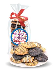 Happy Birthday Crispy & Chewy Artisan Cookie Bag
